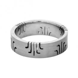 Обручальное кольцо K163, фото 2, цена