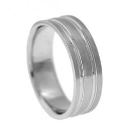 Обручальное кольцо K142, фото 2, цена