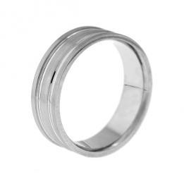 Обручальное кольцо K142, фото 3, цена