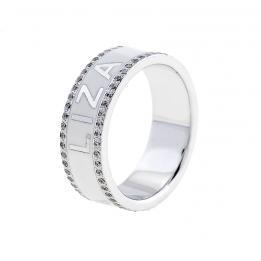 Обручальное кольцо Именное WR16