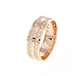 Обручальное кольцо K412, фото 1, цена