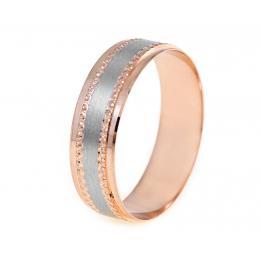 Обручальное кольцо K403